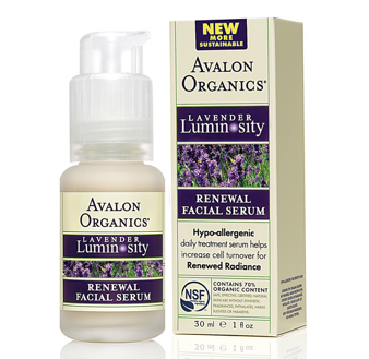 Avalon Organics Facial Serum