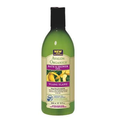 Avalon Organics Ylang Ylang Bath & Shower Gel