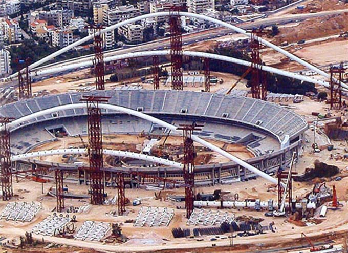 ATHENS OLYMPIC STADIUM ROOF